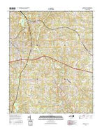 Forest City North Carolina Current topographic map, 1:24000 scale, 7.5 X 7.5 Minute, Year 2016 from North Carolina Map Store