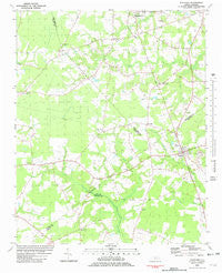 Fountain North Carolina Historical topographic map, 1:24000 scale, 7.5 X 7.5 Minute, Year 1981