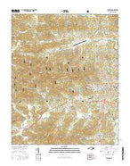Franklin North Carolina Current topographic map, 1:24000 scale, 7.5 X 7.5 Minute, Year 2016 from North Carolina Map Store
