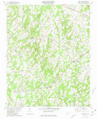Frog Pond North Carolina Historical topographic map, 1:24000 scale, 7.5 X 7.5 Minute, Year 1981
