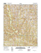 Gastonia South North Carolina Current topographic map, 1:24000 scale, 7.5 X 7.5 Minute, Year 2016 from North Carolina Map Store