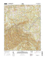 Glade Valley North Carolina Current topographic map, 1:24000 scale, 7.5 X 7.5 Minute, Year 2016 from North Carolina Map Store