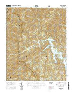 Glenville North Carolina Current topographic map, 1:24000 scale, 7.5 X 7.5 Minute, Year 2016 from North Carolina Map Store