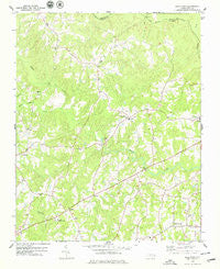 Gold Sand North Carolina Historical topographic map, 1:24000 scale, 7.5 X 7.5 Minute, Year 1978