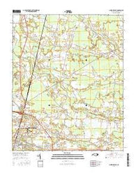 Greenville NE North Carolina Current topographic map, 1:24000 scale, 7.5 X 7.5 Minute, Year 2016