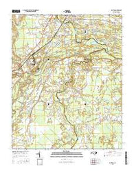 Grifton North Carolina Current topographic map, 1:24000 scale, 7.5 X 7.5 Minute, Year 2016