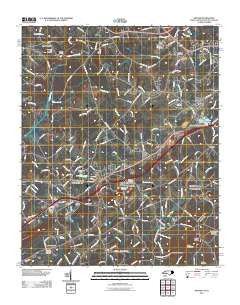 Grover North Carolina Historical topographic map, 1:24000 scale, 7.5 X 7.5 Minute, Year 2011