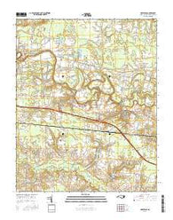 Hartsease North Carolina Current topographic map, 1:24000 scale, 7.5 X 7.5 Minute, Year 2016