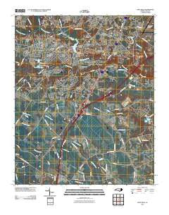 Hope Mills North Carolina Historical topographic map, 1:24000 scale, 7.5 X 7.5 Minute, Year 2010
