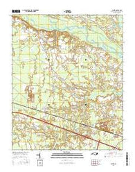 Jasper North Carolina Current topographic map, 1:24000 scale, 7.5 X 7.5 Minute, Year 2016