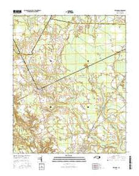 Kelford North Carolina Current topographic map, 1:24000 scale, 7.5 X 7.5 Minute, Year 2016
