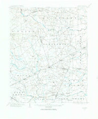 Kenly North Carolina Historical topographic map, 1:62500 scale, 15 X 15 Minute, Year 1902