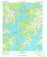 Lake Norman North North Carolina Historical topographic map, 1:24000 scale, 7.5 X 7.5 Minute, Year 1970
