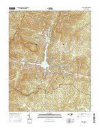 Lake Lure North Carolina Current topographic map, 1:24000 scale, 7.5 X 7.5 Minute, Year 2016 from North Carolina Map Store