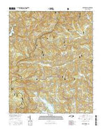 Lake Toxaway North Carolina Current topographic map, 1:24000 scale, 7.5 X 7.5 Minute, Year 2016 from North Carolina Map Store