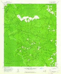 Lewis Swamp North Carolina Historical topographic map, 1:24000 scale, 7.5 X 7.5 Minute, Year 1943