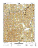 Little Switzerland North Carolina Current topographic map, 1:24000 scale, 7.5 X 7.5 Minute, Year 2016 from North Carolina Map Store
