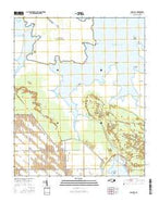Long Bay North Carolina Current topographic map, 1:24000 scale, 7.5 X 7.5 Minute, Year 2016 from North Carolina Map Store