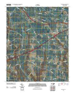 McDonald North Carolina Historical topographic map, 1:24000 scale, 7.5 X 7.5 Minute, Year 2010