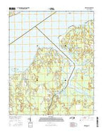 Merrimon North Carolina Current topographic map, 1:24000 scale, 7.5 X 7.5 Minute, Year 2016 from North Carolina Map Store