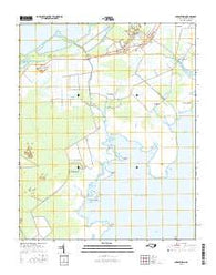 Middletown North Carolina Current topographic map, 1:24000 scale, 7.5 X 7.5 Minute, Year 2016