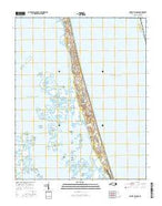 Mossey Islands North Carolina Current topographic map, 1:24000 scale, 7.5 X 7.5 Minute, Year 2016 from North Carolina Map Store
