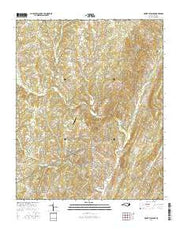 Mount Pleasant North Carolina Current topographic map, 1:24000 scale, 7.5 X 7.5 Minute, Year 2016 from North Carolina Maps Store