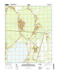 New Lake North Carolina Current topographic map, 1:24000 scale, 7.5 X 7.5 Minute, Year 2016