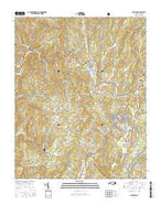 Newland North Carolina Current topographic map, 1:24000 scale, 7.5 X 7.5 Minute, Year 2016 from North Carolina Map Store