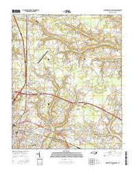 Northeast Goldsboro North Carolina Current topographic map, 1:24000 scale, 7.5 X 7.5 Minute, Year 2016