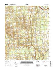 Old Sparta North Carolina Current topographic map, 1:24000 scale, 7.5 X 7.5 Minute, Year 2016 from North Carolina Maps Store