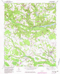 Parkton North Carolina Historical topographic map, 1:24000 scale, 7.5 X 7.5 Minute, Year 1972