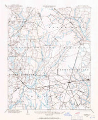 Parmele North Carolina Historical topographic map, 1:62500 scale, 15 X 15 Minute, Year 1901