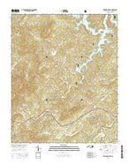 Persimmon Creek North Carolina Current topographic map, 1:24000 scale, 7.5 X 7.5 Minute, Year 2016 from North Carolina Map Store