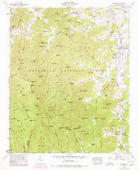 Prentiss North Carolina Historical topographic map, 1:24000 scale, 7.5 X 7.5 Minute, Year 1946