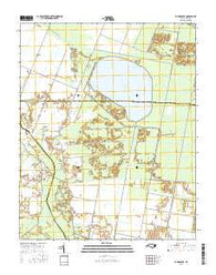 Pungo Lake North Carolina Current topographic map, 1:24000 scale, 7.5 X 7.5 Minute, Year 2016