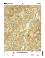 Putnam North Carolina Current topographic map, 1:24000 scale, 7.5 X 7.5 Minute, Year 2016 from North Carolina Map Store