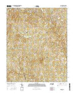 Ramseur North Carolina Current topographic map, 1:24000 scale, 7.5 X 7.5 Minute, Year 2016 from North Carolina Map Store