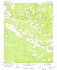 Republican North Carolina Historical topographic map, 1:24000 scale, 7.5 X 7.5 Minute, Year 1972