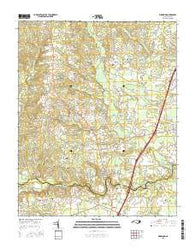 Ringwood North Carolina Current topographic map, 1:24000 scale, 7.5 X 7.5 Minute, Year 2016