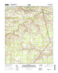Rivermont North Carolina Current topographic map, 1:24000 scale, 7.5 X 7.5 Minute, Year 2016