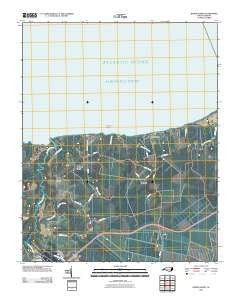 Roper North North Carolina Historical topographic map, 1:24000 scale, 7.5 X 7.5 Minute, Year 2010