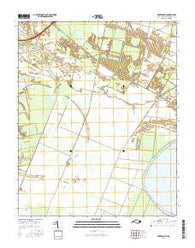 Roper South North Carolina Current topographic map, 1:24000 scale, 7.5 X 7.5 Minute, Year 2016