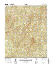 Satterwhite North Carolina Current topographic map, 1:24000 scale, 7.5 X 7.5 Minute, Year 2016 from North Carolina Maps Store