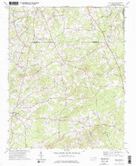 Silk Hope North Carolina Historical topographic map, 1:24000 scale, 7.5 X 7.5 Minute, Year 1974
