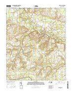 Snow Hill North Carolina Current topographic map, 1:24000 scale, 7.5 X 7.5 Minute, Year 2016 from North Carolina Map Store