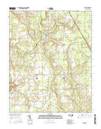 Speed North Carolina Current topographic map, 1:24000 scale, 7.5 X 7.5 Minute, Year 2016 from North Carolina Map Store