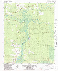 Stag Park North Carolina Historical topographic map, 1:24000 scale, 7.5 X 7.5 Minute, Year 1981