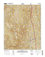 Star North Carolina Current topographic map, 1:24000 scale, 7.5 X 7.5 Minute, Year 2016 from North Carolina Map Store