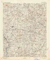 Statesville North Carolina Historical topographic map, 1:125000 scale, 30 X 30 Minute, Year 1893